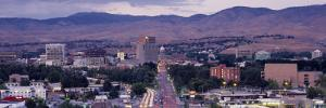 Aerial View of a City, Boise, Idaho, USA