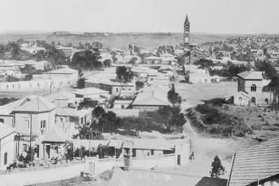 Aerial View of Asmara