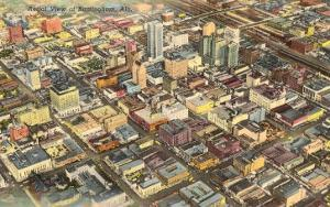 Aerial View of Birmingham, Alabama