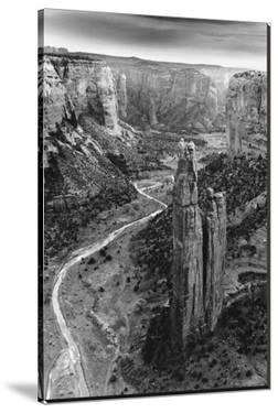 Aerial View of Chelly Canyon, Arizona