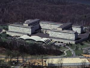Aerial View of CIA Building