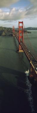 Aerial View of Golden Gate Bridge, San Francisco, California, USA