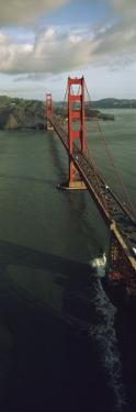Aerial View of Golden Gate Bridge, San Francisco, California, USA