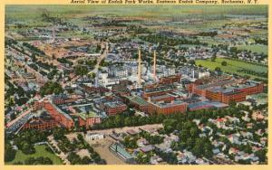 Aerial View of Kodak Park, Rochester, New York