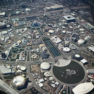 Aerial View of New York World's Fair