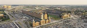 Aerial View of Oriole Park at Camden Yards, Baltimore, Maryland, USA