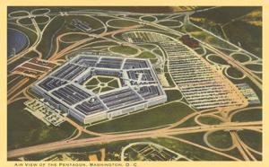 Aerial View of Pentagon