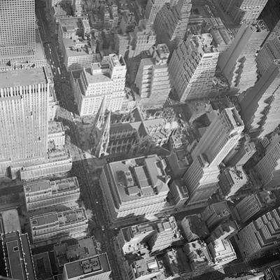 Aerial View of Saint Patrick's Cathedral