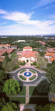 Aerial View of Stanford University, Stanford, California, USA