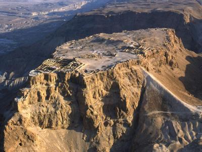 Aerial View of the Masada Plateau