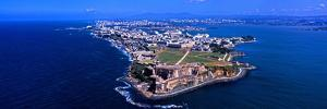 Aerial View of the Morro Castle, San Juan, Puerto Rico