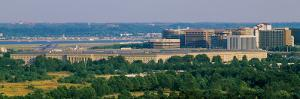 Aerial View of the Pentagon, Arlington, Virginia, USA