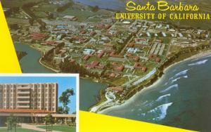 Aerial View of University of California at Santa Barbara