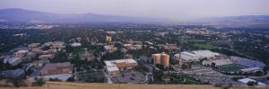 Aerial View of University of Montana, Missoula, Montana, USA