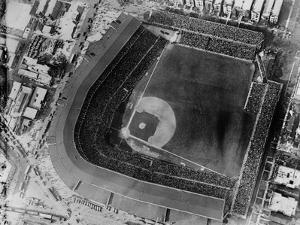 Aerial View of Wrigley Field
