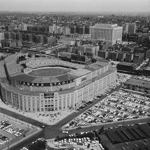 Aerial View of Yankee Stadium