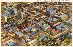 Aerial View, South Bend, Indiana