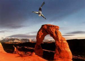 Aerials Delicate Arch 2002 Salt Lake City Olympics