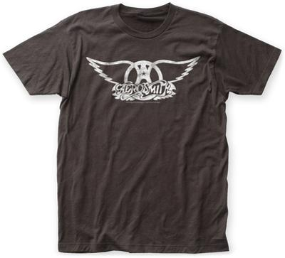 Aerosmith- Distressed White Wings