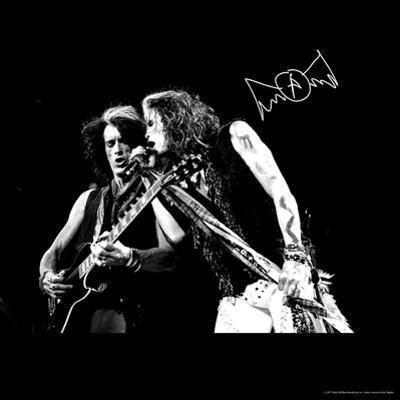 Aerosmith - Joe Perry & Steve Tyler (Black and White)