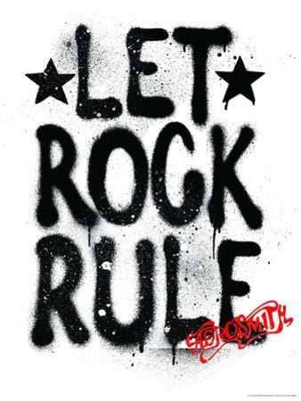 Aerosmith - Let Rock Rule Graffiti