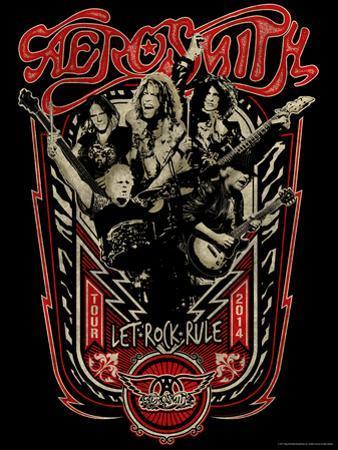Aerosmith - Let Rock Rule World Tour