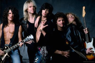 Aerosmith - Let the Music Do the Talking 1980s