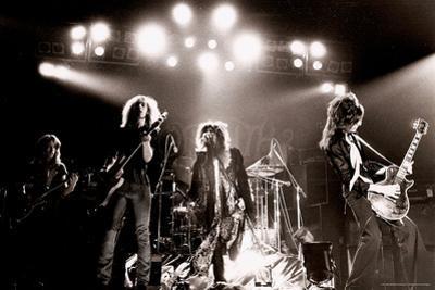 Aerosmith - Waterbury 1978 B&W