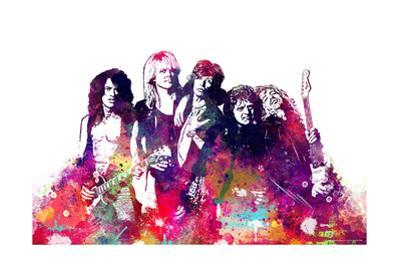 Aerosmith - Watercolor