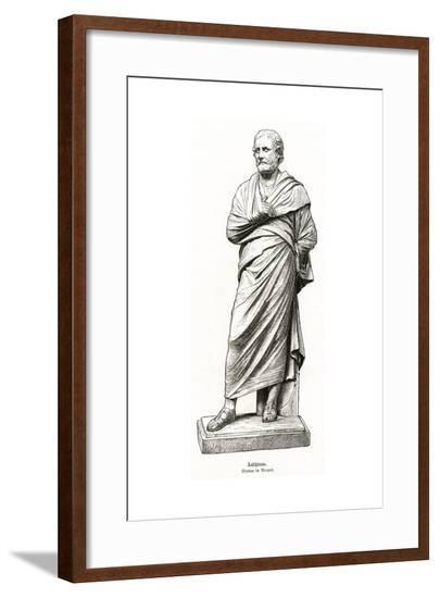 Aeschines (Statue)--Framed Giclee Print