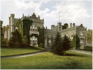 Aske Hall, Yorkshire, Home of the Earl of Zetland, C1880 by AF Lydon