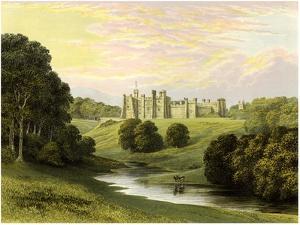 Brancepeth Castle, Lord Boyne, C1880 by AF Lydon