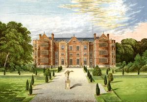 Burton Agnes Hall, Worcestershire, Home of Baronet Boynton, C1880 by AF Lydon