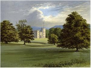Castle Forbes, Aberdeenshire, Scotland, Home of Lord Forbes, C1880 by AF Lydon