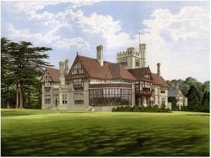 Cowdray Park, Sussex, Home of the Earl of Egmont, C1880 by AF Lydon