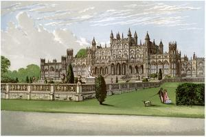 Eaton Hall, Cheshire, Home of the Duke of Westminster, C1880 by AF Lydon