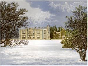 Eshton Hall, Yorkshire, Home of Baronet Wilson, C1880 by AF Lydon