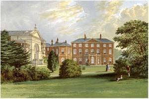 Everingham Park, Yorkshire, Home of Lord Herries, C1880 by AF Lydon