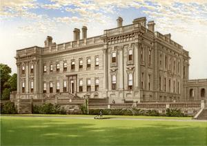Heythrop, Oxfordshire, Home of the Brassey Family, C1880 by AF Lydon