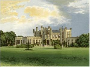Highcliffe Castle, Dorset, Home of the Marchioness of Waterford, C1880 by AF Lydon