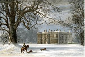 Howsham Hall, Yorkshire, Home of the Cholmley Family, C1880 by AF Lydon