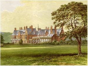 Hutton Hall, Yorkshire, Home of the Pease Family, C1880 by AF Lydon