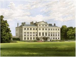 Lathom House, Lancashire, Home of Lord Skelmersdale, C1880 by AF Lydon