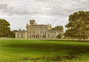 Locko Park, Derbyshire, Home of the Drury-Lowe Family, C1880 by AF Lydon