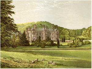 Mamhead, Devon, Home of Baronet Newman, C1880 by AF Lydon