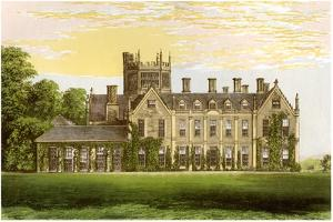 Melbury House, Dorset, Home of the Earl of Ilchester, C1880 by AF Lydon