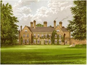 Nether Hall, Suffolk, Home of the Greene Family, C1880 by AF Lydon