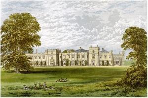 Panshanger Park, Hertfordshire, Home of Earl Cowper, C1880 by AF Lydon