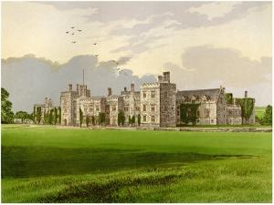 Penshurst Castle, Kent, Lord De L'Isle and Dudley, C1880 by AF Lydon