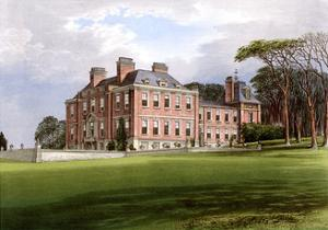 Pynes, Devon, Home of the Northcote Family, C1880 by AF Lydon